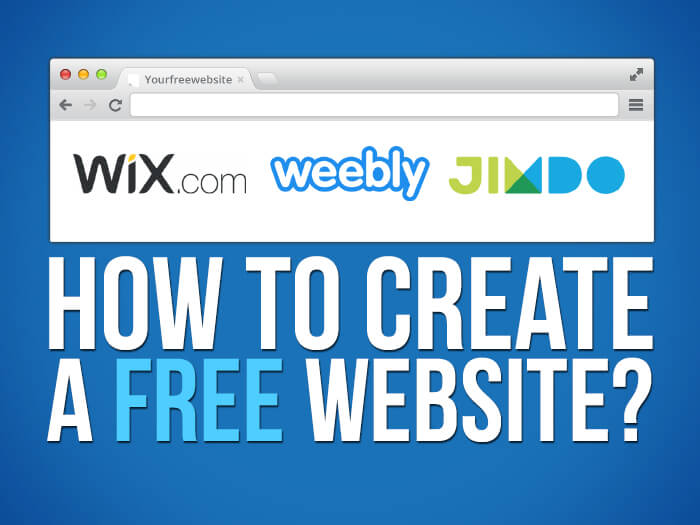 best place to create free website