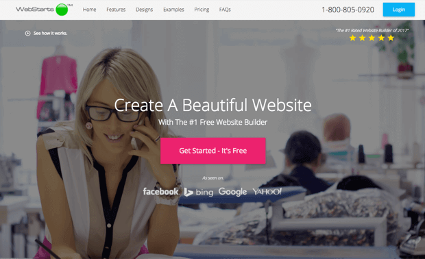 best free small business website builder and hosting