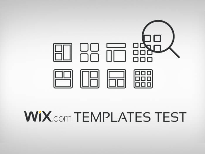 Wix.com Templates im Test
