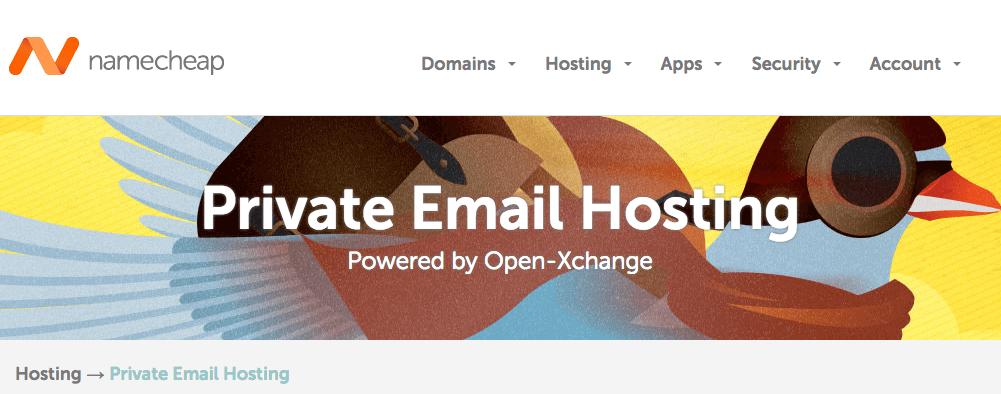 namecheap professional email