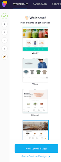 volusion store setup