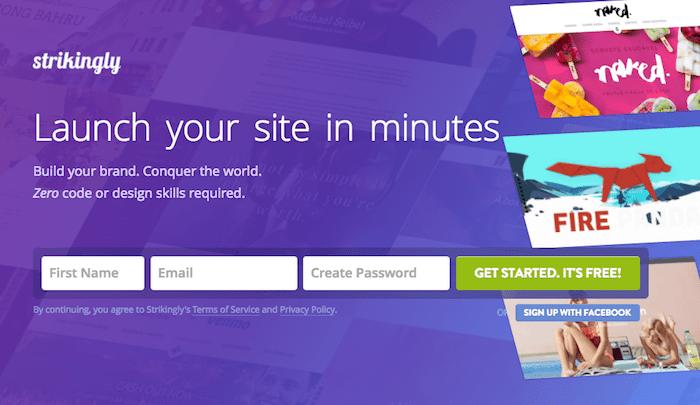 Strikingly free ecommerce website builder