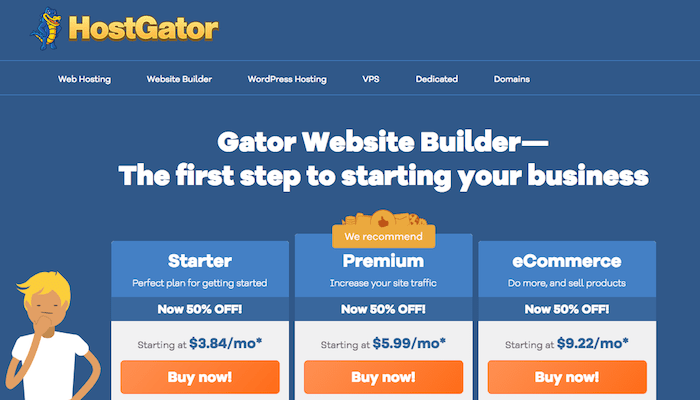 Gator cheap website builder