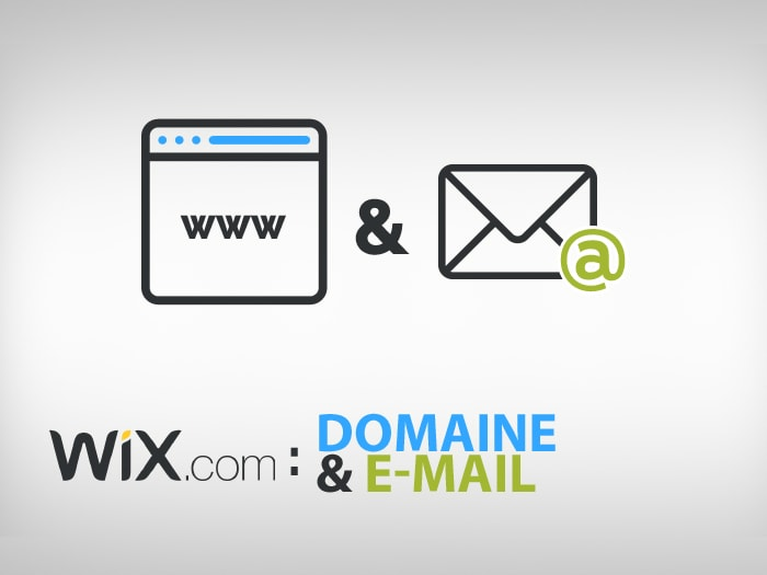 Wix domaine et email