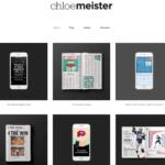 format portfolio example chloe