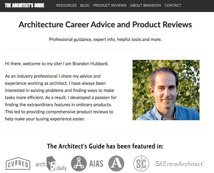 The Architect's Guide SEO Squarespace success story