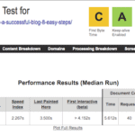 Ipage Websitetest.org speed test