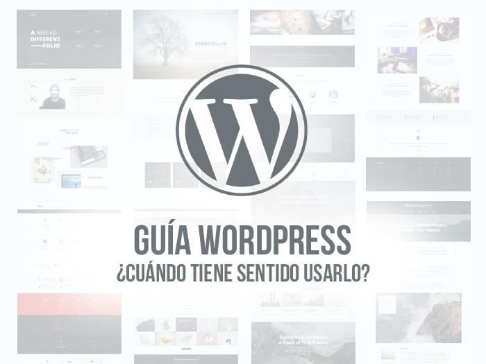 Guía y tutorial WordPress