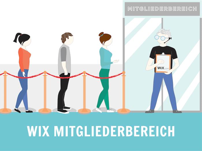 Wix Mitgliederbereich