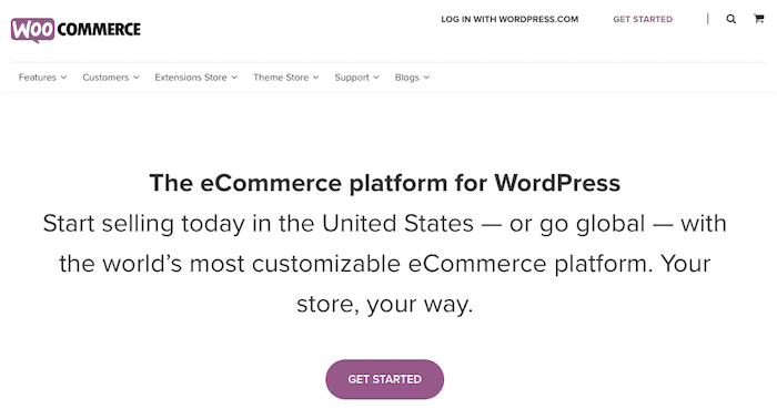 woocommerce self hosted ecommerce solution
