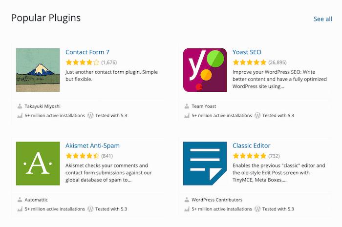 Wordpress.com review plugins